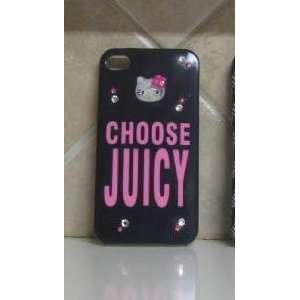 Hello Kitty Iphone 4g Case Choose Juicy Swarovski Crystal