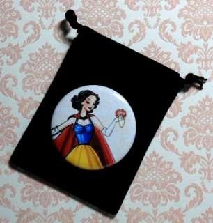 SNOW WHITE Designer Disney Princess Doll + Purse Mirror Limited