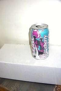 RARE 1989 Vintage Cherry Coke Coca Cola Open Can