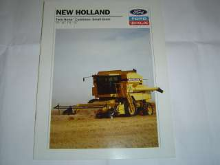 New Holland 87 & 97 Twin Rotor Combines Small Grain brochure