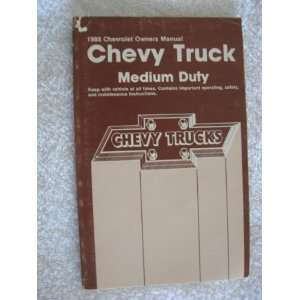 com 1988 Chevrolet Chevy Medium Duty Truck Owners Manual Automotive
