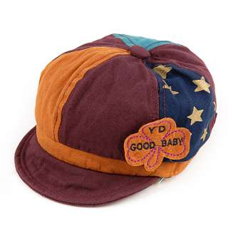 Cute Baby Toddler Infants Boys Girls Newsboy Mixed color Baseball Cap
