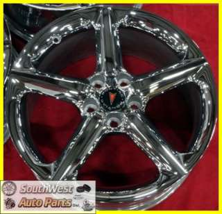08 09 PONTIAC SOLSTICE SATURN SKY 18 CHROME T/O WHEELS OEM RIMS 7046