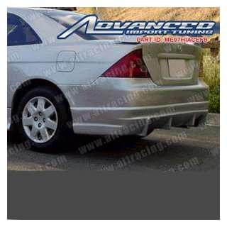 Honda Civic Buddy Club Rear Bumper Automotive