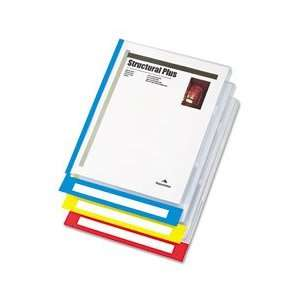 PileSmart Quickview Clear File Jackets w/Primary Color
