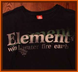 Element Skateboards Surf Snow Clothing T Shirt L
