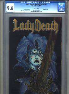 Lady Death Limited Series #1 CGC 9.6 (1994) Chromium