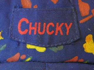 SPOOKY CREEPY SCARY RESURRECTED CHUCKY DOLL WITH BLOODY SCARS, HANDS