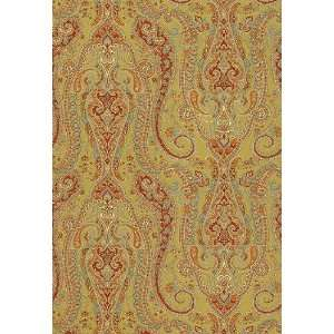 Isabella Paisley Peridot by F Schumacher Wallpaper: Home