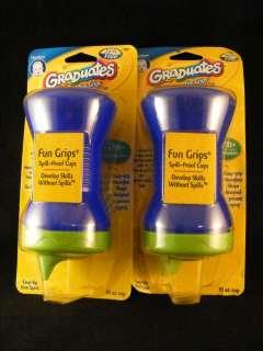 Gerber Graduates Fun Grips Sippy Cup 10oz 12m NO BPA 015000788773