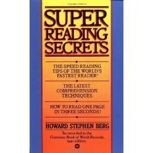 Reading Secrets [Mass Market Paperback] Howard Stephen Berg Books