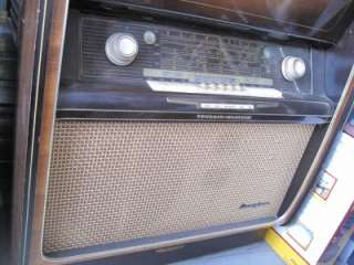 Grundig Majestic TUBE Radio/ Phono Receiver Shortwave