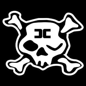 Combichrist Skull cd logo Sticker industrial decal
