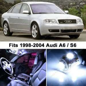 Audi A6 S6 WHITE LED Lights Interior Package Kit C5 (16 Pieces)