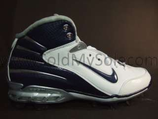 Nike Zoom Assassin TD White Blue Silver Mens Sz 9.5