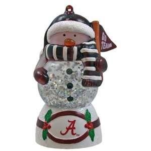 Alabama Crimson Tide UA NCAA Shimmer Glone Ornament