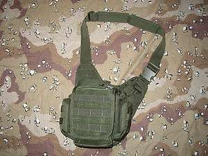 CONCEAL AND CARRY PUSH PACK HIDE A WEAPON shoulder bag removable gun