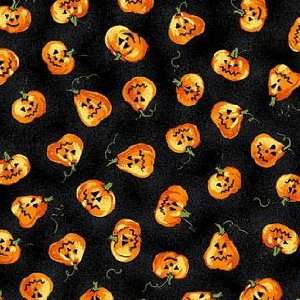 Scary Night Cotton Fabric 2208 99 Arts, Crafts & Sewing