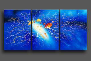 Abstract Oil Painting On Canvas Contemporary Art Original Handmade