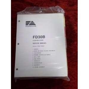 Fiat Allis FD30B Crawler Dozer OEM Service Manual Fiat