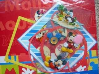 New Disney~MICKEY THEME PARK Scrapbook Page Kit