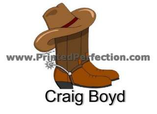 COWBOY BOOTS   Custom Cartoon Gift, Many Options for Personalization