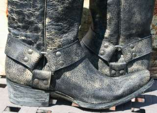 OLD GRINGO~WOMANS COWBOY/MOTORCYCLE BOOT~8~HANNA~NEW~BLACK~STYLE L 465