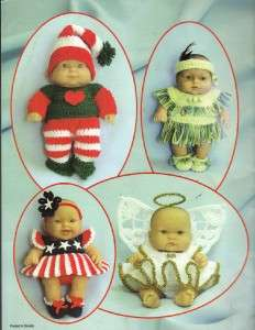 Annie Potter Original Holiday Babies Crochet Book~