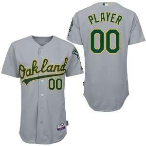 Personalized Wholesale Oakland Athletics Blank Grey Baseball Jerseys