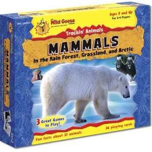 Trackin Animals: Mammals (Rain Forest, Grassland, Arctic