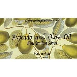 Avocado & Olive Oil Fine Soap Gift Set 3 X 4.40 Oz. From Italy Beauty