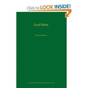 Food Webs (MPB 50) (Monographs in Population Biology