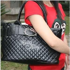 Hello Kitty Shoulder Tote Handbag Satchel Shopper Purse Beauty