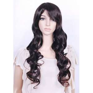 Synthetic Long Dark Brown Wig by Sexy Wigs Beauty