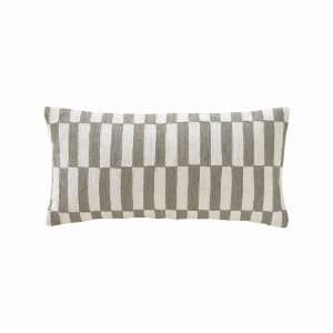 Deconstructed Blocks Ash Lumbar Pillow Home & Kitchen