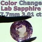 Color Change Lab Created Sapphire Pink Purple to Blue G