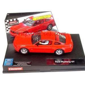 Ford Mustang GT 2005 Street Version/ with lightsRed (Slot Cars