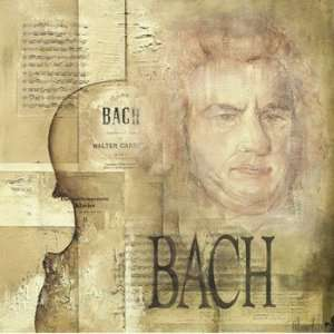 A Tribute To Bach   Poster by Marie Louise Oudkerk (27.6 x