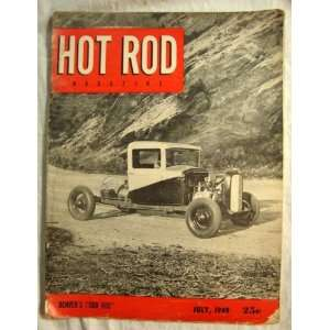 Hot Rod Magazine July 1949 Denvers Odd Rod Motor Trend