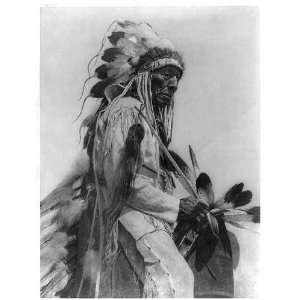 The old Cheyenne North American Indian,c1927,ES Curtis