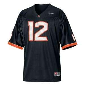 Oregon State Beavers Football Jersey Nike Black #12 Replica Football