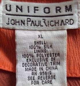 UNIFORM JOHN PAUL RICHARD SPARKLY SEQUINED KURTA TOP Size XL