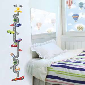 KIDS Growth Height Chart Wall STICKER Removable Decal