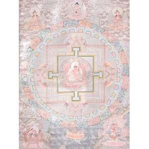 Rinpoche Mandala   Tibetan Thangka Painting: Home