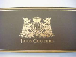 JUICY COUTURE Crystals Pave Starter Heart Charm Toggle Bracelet in