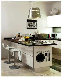 Kitchen Graphic Adhesive WALL STICKER Removable Decal