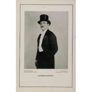1927 Silent Film Star Raymond Griffith Paramount Print