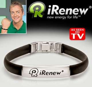 IRENEW BRACELETS AS SEEN ON TV ENERGY, BALANCE & POWER
