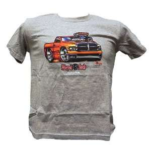 Childrens Dodge Ram Warped Heads Pickup Truck Tee Shirt