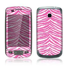 Pink Zebra Design Decorative Skin Cover Decal Sticker for LG Optimus